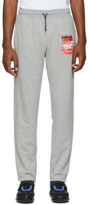 Burberry Grey Coledon Lounge Pants