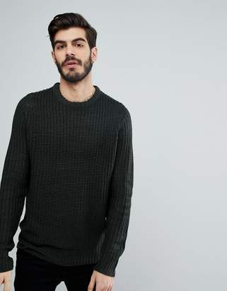 Brave Soul Knitted Crew Neck Sweater