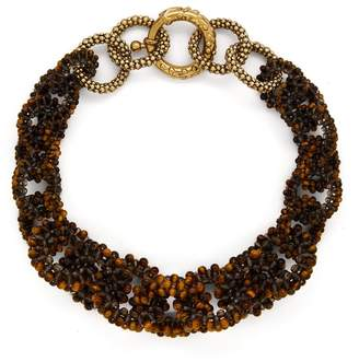 Rosantica BY MICHELA PANERO Carramato short beaded necklace