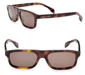 Alexander McQueen 51MM Shield Sunglasses