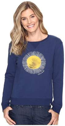 Life is Good Sun Go-To Crew Sweatshirt Women's Sweatshirt