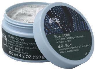 Blue Corn 3 in 1 Deep Cleansing Scrub Mask