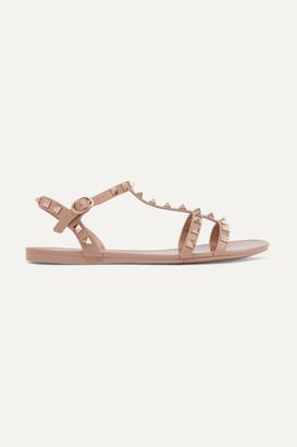Valentino The Rockstud Rubber Sandals