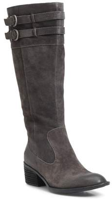 Børn Tay Block Heel Knee High Boot