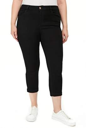 Evans Crop Skinny Jeans (Plus Size)