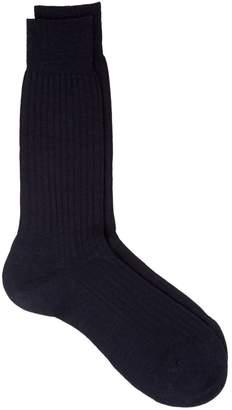 Harrods Ribbed Merino Socks