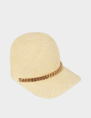 Stella McCartney Straw cap