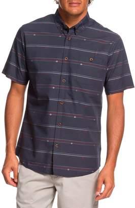 Quiksilver Waterman Collection Flow Fellow Regular Fit Sport Shirt
