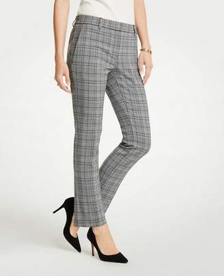 Ann Taylor The Ankle Pant In Dash Plaid - Curvy Fit