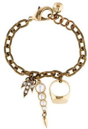 Lulu Frost Signet Bracelet $95 thestylecure.com