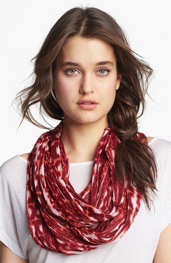 Collection XIIX 'Tribal' Pleated Infinity Scarf