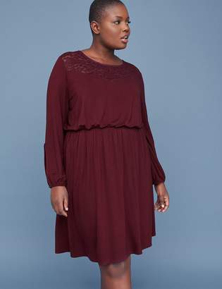 ed8b8103bf8 Lane Bryant Purple Plus Size Dresses - ShopStyle Canada