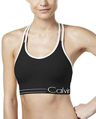 Calvin Klein Women's Low-Impact Strappy Sports Bra