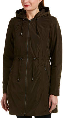 Laundry by Shelli Segal Reversible Windbreaker Coat