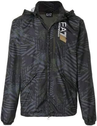 Emporio Armani Ea7 graphic sports jacket