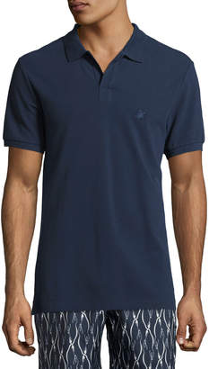 Vilebrequin Palan Cotton Pique Polo Shirt