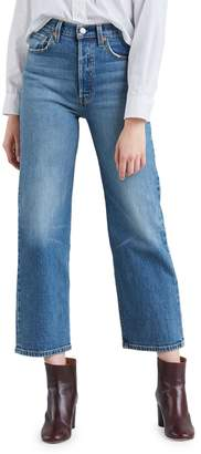 Levi's Ribcage Jive Swing Slim Straight Ankle Jeans