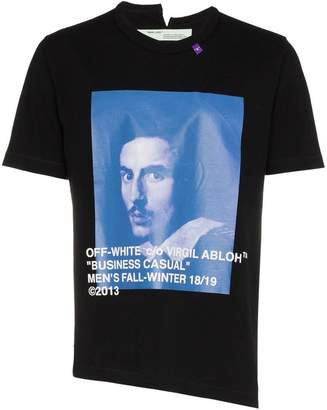 Off-White Bernini graphic print cotton t-shirt