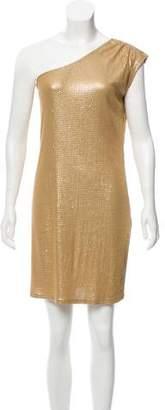 MICHAEL Michael Kors Sequin One-Shoulder Mini Dress