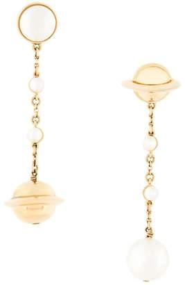 Swarovski Eshvi pearl drop earrings