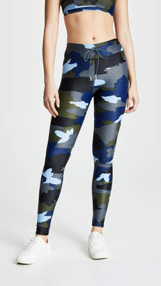 The Upside Abstract Camo Yoga Pants
