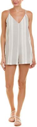 Young Fabulous & Broke Yfb Clothing Fedora Linen-Blend Romper