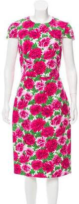 Michael Kors Floral Cap Sleeve Dress w/ Tags