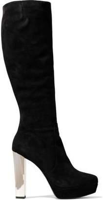 Alice + Olivia Suede Knee Boots