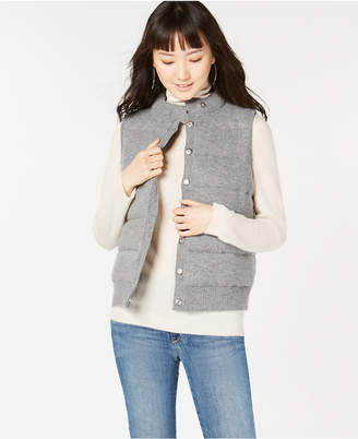 Charter Club Pure Cashmere Puffer Vest, in Regular & Petite Sizes, Created for Macy's