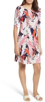 Tommy Bahama Lily Leaf Toss Shift Dress