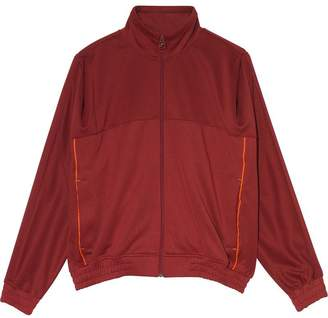 Nike X Martine Rose maroon zip up track jacket