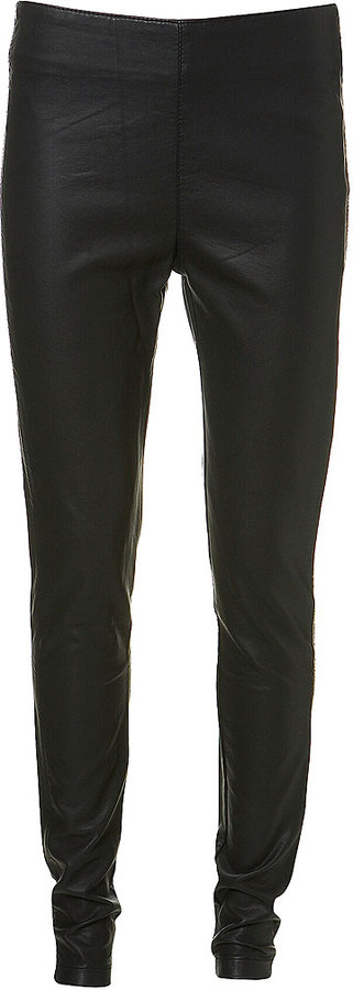 Leather Effect Skinny Trouser