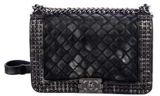 Chanel Paris-Dallas Studded New Medium Boy Bag