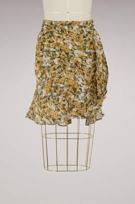 Isabel Marant Ferna silk skirt