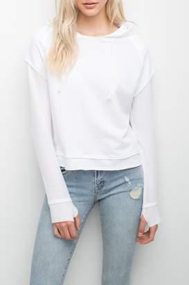Generation Love Lennox Perforated Sweatshirt