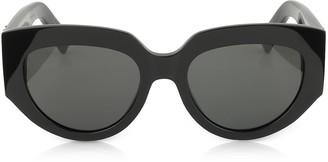 Saint Laurent SL M26 ROPE Black Acetate Square Cat-Eye Frame Sunglasses