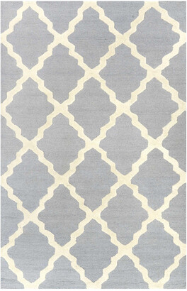 nuLoom Marrakech Trellis Hand Hooked Wool Contemporary Rug