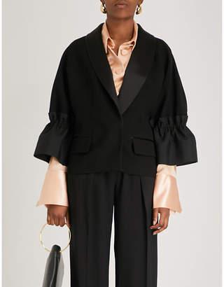Roksanda Zenitha crepe jacket