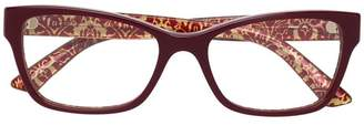 Dolce & Gabbana Eyewear rectangular frame glasses