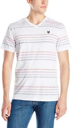 Zoo York Men's Sidewinder V-Neck Short Sleeve Shirt