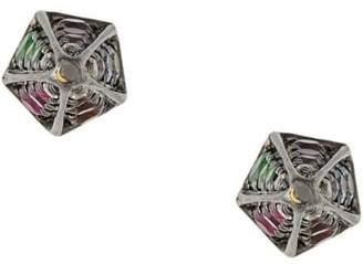 Noor Fares Rainbow Cone earrings