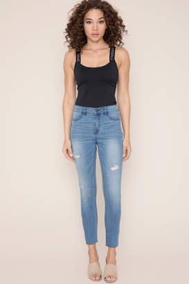 Ardene Kendall & Kylie Cut Off Skinny Jeans