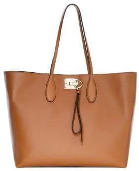 Salvatore Ferragamo Medium Studio Leather Tote