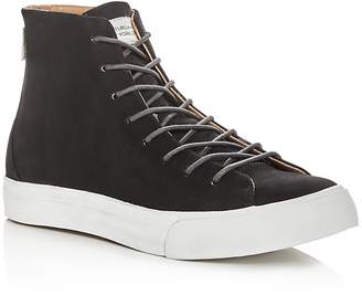 Saturdays NYC Men's Mike Leather High Top Sneakers