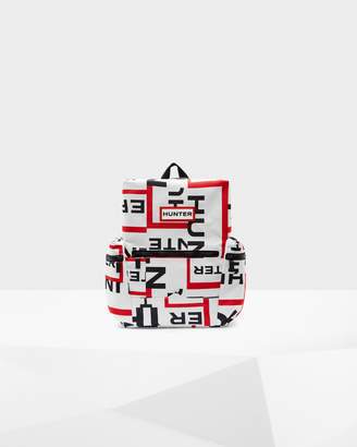 Hunter Exploded Logo Top Clip Mini Backpack