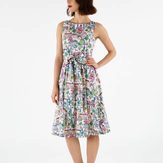 Cath Kidston London View Tie Waist Dress