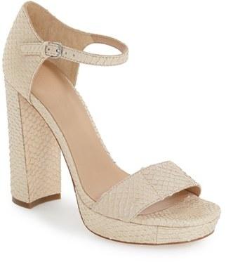 Women's Pour La Victoire 'Yvette' Ankle Strap Sandal $324.95 thestylecure.com