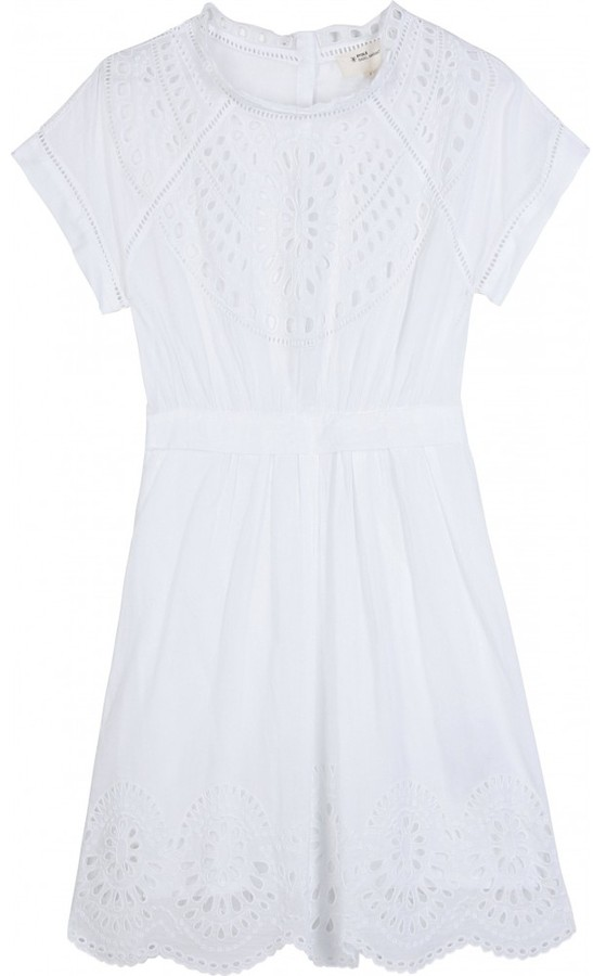 Étoile Isabel Marant EYELET LACE DRESS