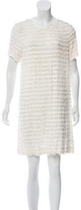 L'Agence Fringe Mini Dress