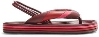 Isabel Marant Etanee tri-colour sandals